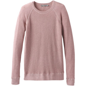 Prana Milani Rundhals-Sweater Damen light mauve heather
